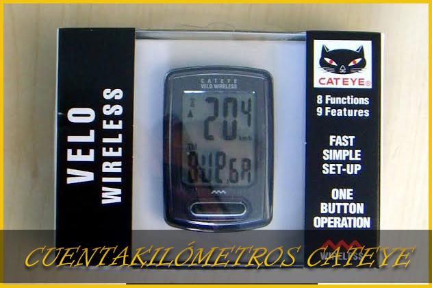 Cuentakilómetros Cateye